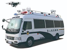 5KW belt power system for COASTER UAV command vehicle