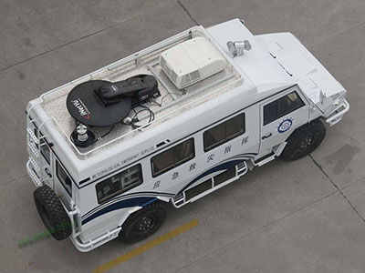 6KW Belt Power System For IVECO Emergency Command Vehicle