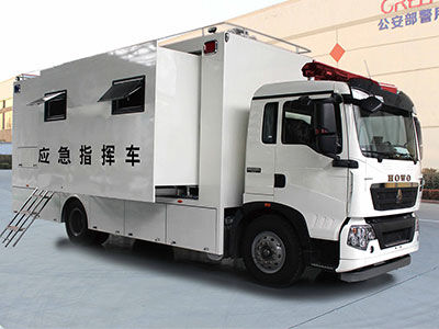 10KW Belt Power System For HOWO Emergency Command Vehicle