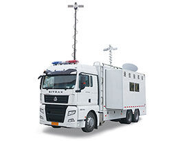 12KW Belt Power System For SITRAK Emergency Command Vehicle