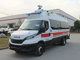 4KW Belt Power System For IVECO Command Vehicle